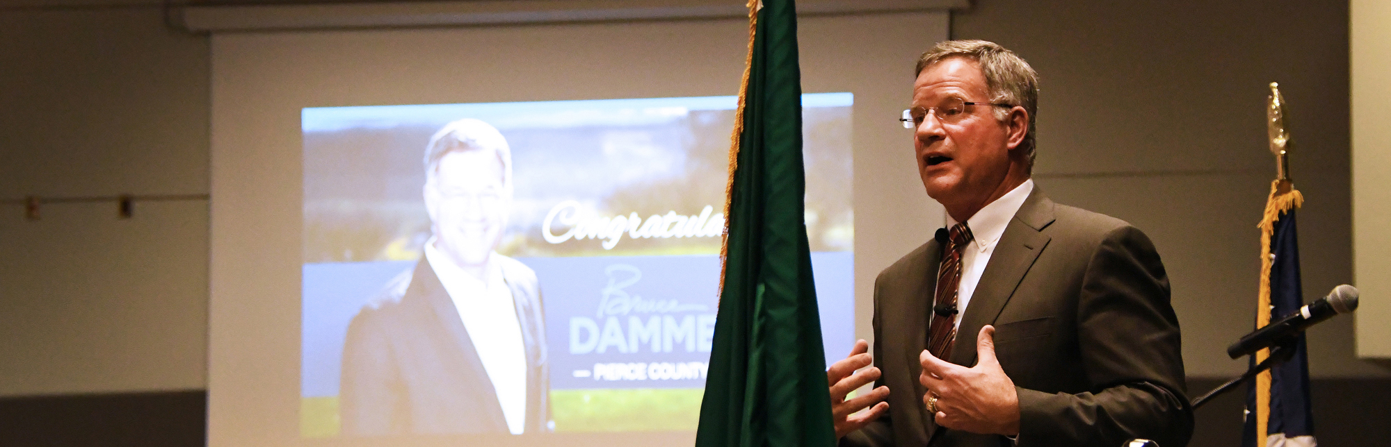 Pierce County Executive Bruce Dammeier